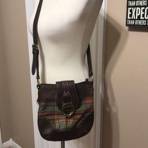 NWOT American Living Plaid Crossbody Handbag 👜